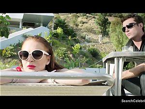 James Deen and Lindsay Lohan get super-steamy on webcam