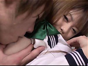 Noriko Kago college girl porn in japanese home movie