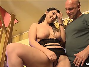 LA novice - steaming rectal boink with wonderful French amateur