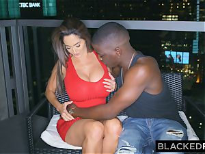 BLACKEDRAW Ava Addams Is pulverizing big black cock And Sending photos To Her husband