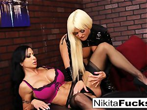 Nikita Von James and clitoris Jade tear up
