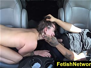 HelplessTeens Ashley Adams outdoor intercourse