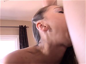 Pint sized Sara Luvv ravages her fathers mate