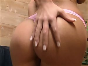 Whitney Westgate deep-throats and smashes in point of view