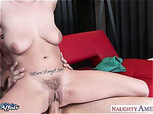 brunette Ashlee Graham has been wanting to fuck her neighbor