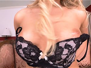 Mia Malkova disrobes off and fingers her tasty puss