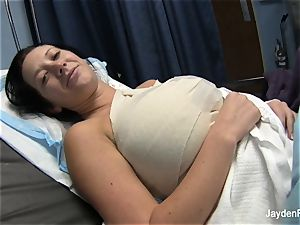 Behind the sequences with Jayden and her titty implants