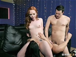 threeway joy with Ella Hughes