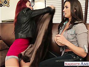 astounding Misty Anderson licking Monique Alexander's twat