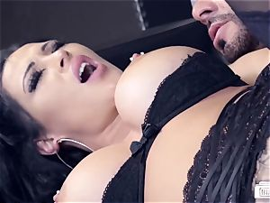 booties BUERO - German secretary penetrates manager at the office