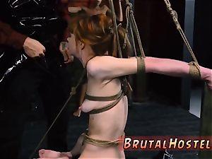 bondage & discipline weekend and poking machine dump restrain bondage hard-core luxurious young chicks, Alexa Nova and