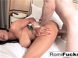 Romi Rain gets a superb ravage from a giant shaft