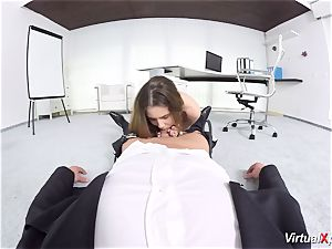 adorable Elle Rose point of view torn up