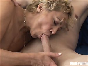 Souled granny blowing And nailing rock hard lollipop