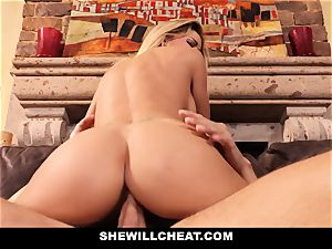 hotwife hubby watches Wifes vag Get destroyed