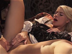 sizzling princess Anikka Albrite awoken with a fuck