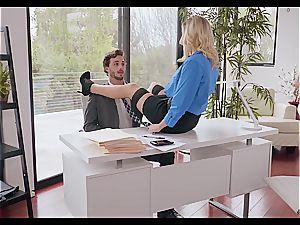 Kenzie Taylor is the flawless office mega-slut