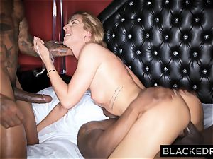 BLACKEDRAW european Model pounds two BBCs and Gets dominated