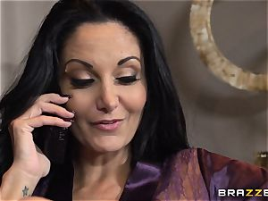 milf Ava Addams seduced by the TV guy