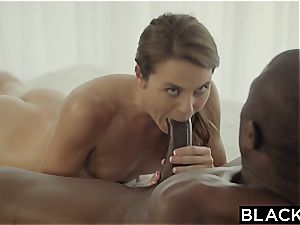 first-ever interracial for naughty Ally Tate