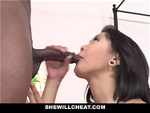 SheWillCheat - japanese wife boinks big black cock guy