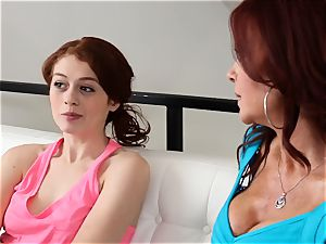 SEXYMOMMA - sandy-haired stepmom butt licking teens fleshy bunghole