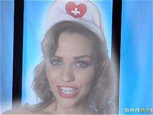 wish nurse Mia Malkova gets her patient thru his operation