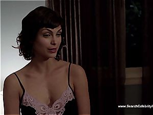 unbelievable Morena Baccarin looking handsome nude on film