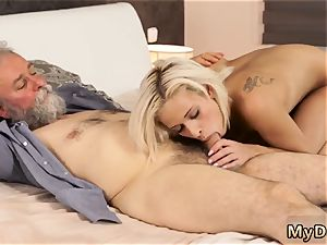 platinum-blonde watches couple Surprise your gf and she will ravage with your dad