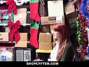 Shoplyfter - crimson Headed cockslut Offers fuckbox For Stealing