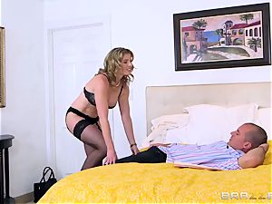 Tricky fellow humps his hottest friend's red-hot huge-chested wifey Cory haunt