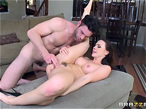 Chanel Preston boned doggy-style