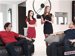 April Brookes and Farrah Valentine interchange punishment