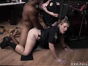 super-fucking-hot mummy massive pecker and mature towheaded getting porked first-ever time moist video takes hold of cop pummeling