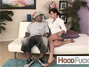 cougar mom Lisa Ann interracial monster beef whistle