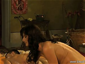 private guts exam and massage