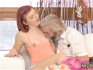 nubile nymphs first time hd unexpected practice with an senior gentleman