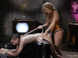 huge orbs domme anal invasion nails masculine