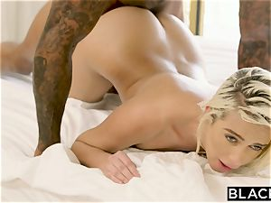 BLACKED super-naughty Intern Can't Stop Herself Around bbc