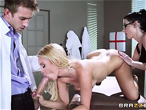 Aaliyah love and Veruca James get super-naughty at the surgery