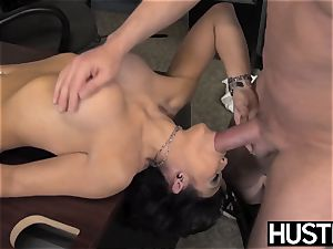 inviting milf Ryder Skye deep-throats before sultry boink