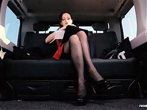 boned IN TRAFFIC - brit Tina Kay boinked in the car