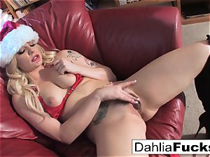 Christmas solo with Dahlia Sky