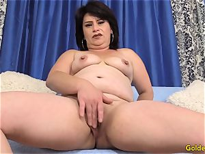 old doll Jenna Jingles peels off down and nails