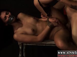 raunchy anal group plumb restrain bondage smallish, inked, and very pretty, Gina Valentina is the