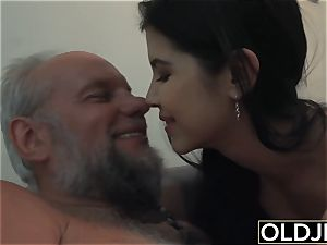 woman Dee nubile cunt gobbling And plow with dirty facial