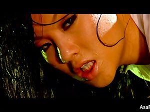 softcore smashing with a wetting raw Asa Akira