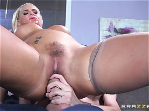 Phoenix Marie gets penetrated in the ass by big dicked Danny D
