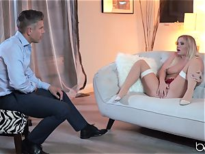 Bailey Brookes tamed by some enormous german boner