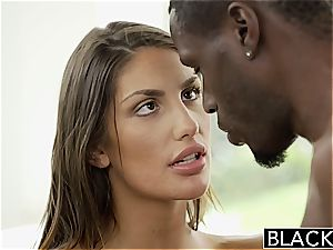 BLACKED August Ames Gets An multiracial internal ejaculation